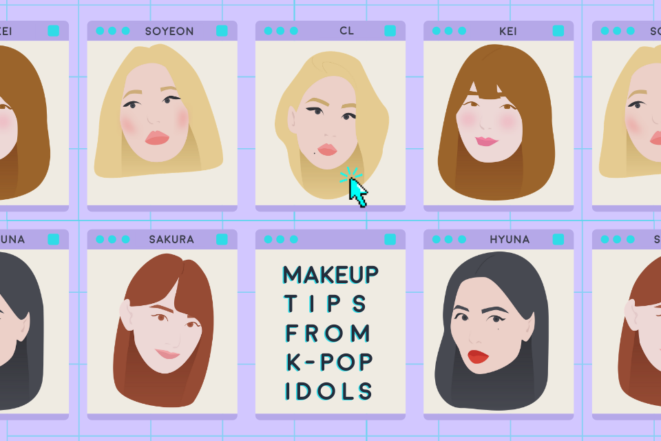 5 Easy Makeup Tips and Tricks From K-Pop Idols – THE YESSTYLIST - Asian Fashion Blog