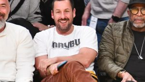Adam Sandler Is Wearing Luxury Sneakers and We Don't Know What to Think