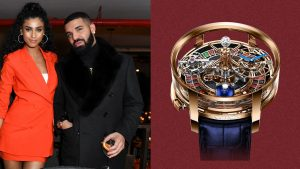 Drake's New Watch Has a Fully Functional Roulette Wheel