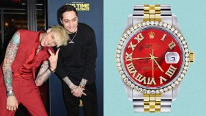 Pete Davidson's Watch Has BDE, by Which We Mean…Beautiful Dial Energy