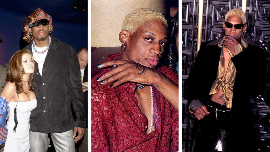 How Dennis Rodman, '90s Outcast, Became Dennis Rodman, Style Godhead