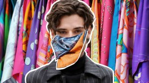In the Fight Against Coronavirus, the Hermès Scarf Becomes an Unlikely Weapon