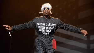 André 3000's Iconic Jumpsuits Are Turning Into Charitable T-Shirts
