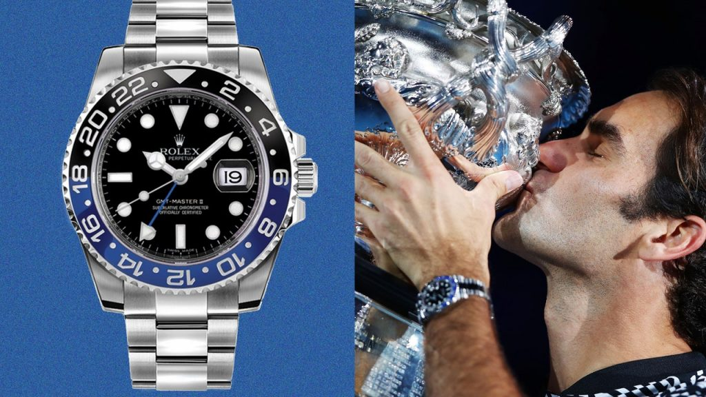Roger Federer Has a GOAT-Worthy Collection of Rolex Watches