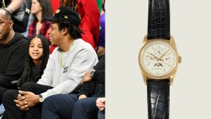 Remember When Jay-Z Wore a One-of-One Rolex Courtside?