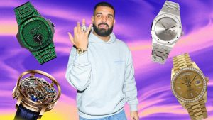 Drake's Watch Collection Is as Fun as it Gets