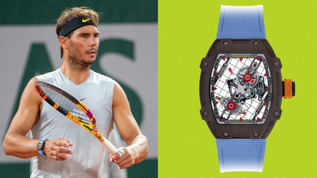 Rafael Nadal Wore His Brand New Million-Dollar Watch to the French Open