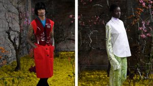 Raf Simons Throws a Flower Power Reckoning