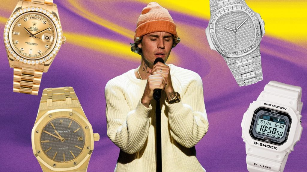 """From """"Baby"""" to """"Lonely,"""" the Very Best Watches Justin Bieber's Collected"""