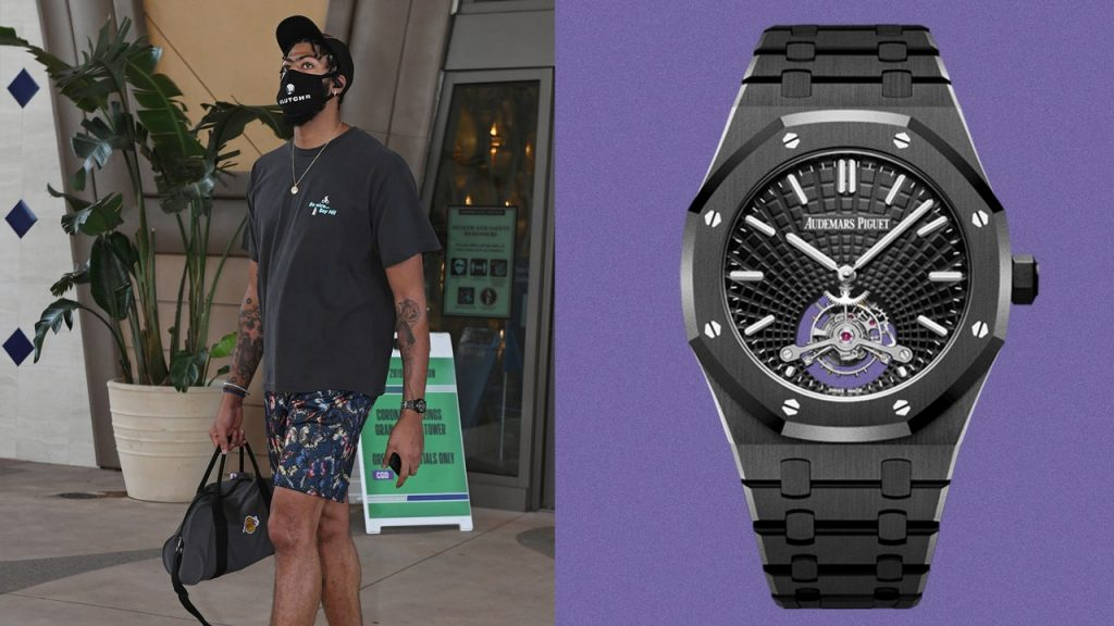 Anthony Davis Is Officially a Superstar, and He Has the Watch to Prove It