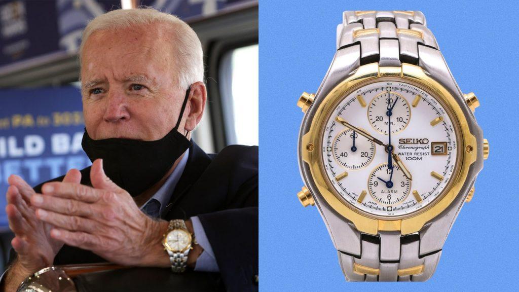 Let Joe Biden Lead You...as a Watch Collector