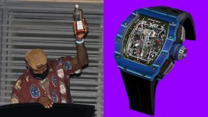 LeBron James Wears the Watch of a Champion