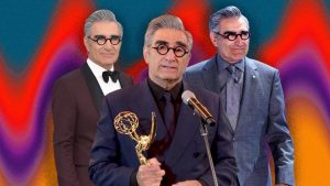 This Year, No One Dressed Quite As Sharp as Eugene Levy