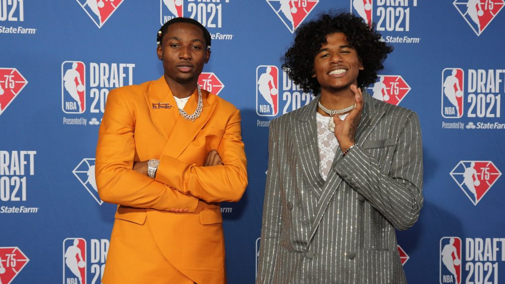 The Coolest and Craziest Looks from the 2021 NBA Draft
