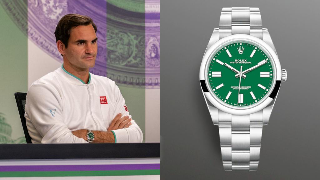Roger Federer's Vintage-Looking Rolex Is Brand New