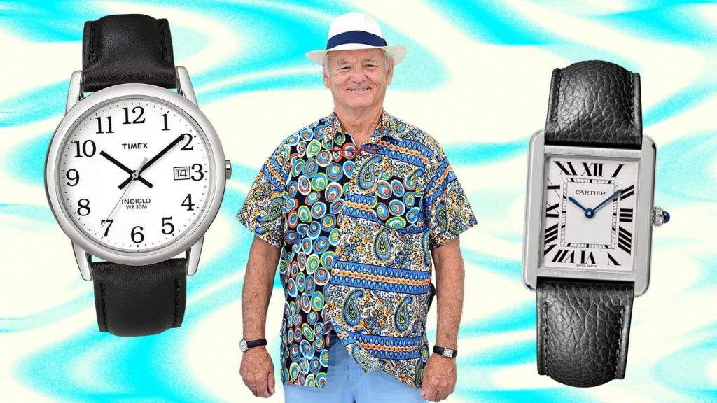 Of Course Bill Murray Wore Two Watches at Once in Cannes