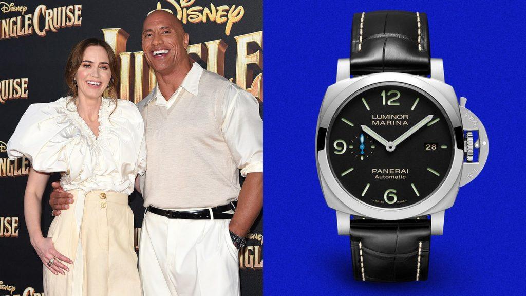 Dwayne Johnson Wears the Ultimate Action-Hero Watch