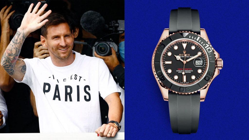 Lionel Messi Has a New Team, and a New Watch