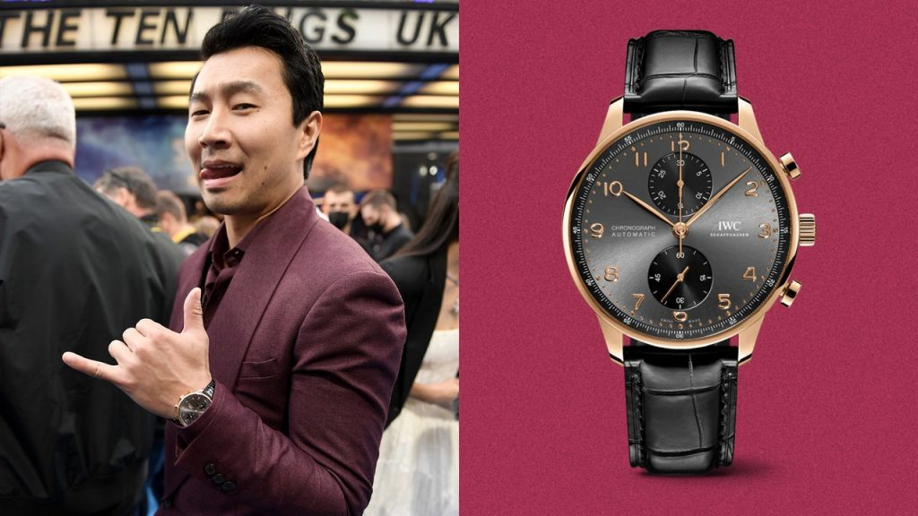 New Marvel Superhero Simu Liu Has a New Super Watch