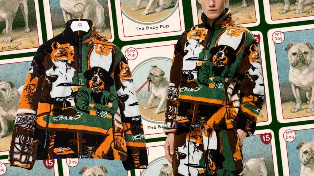 At Last, Dogs Playing Poker Goes High Fashion